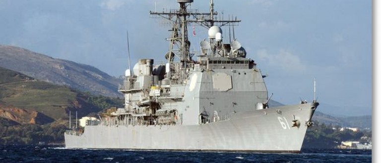 The U.S.S. Monterey Ticonderoga Class Missile Cruiser. Source: U.S. Navy