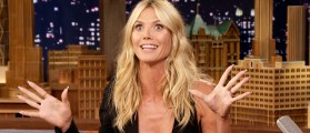 Heidi Klum Wears An Extremely Short Dress On Live TV — You Can Guess What Happens Next