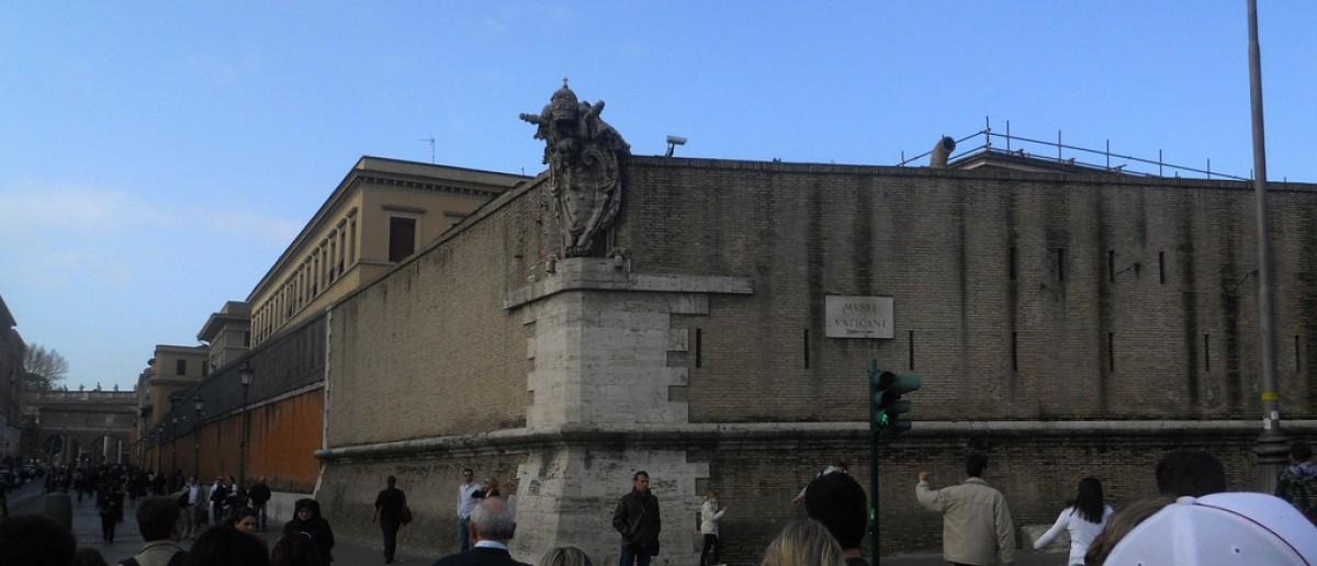 Vatican City's walls [Erik Drost/Flickr Creative Commons]