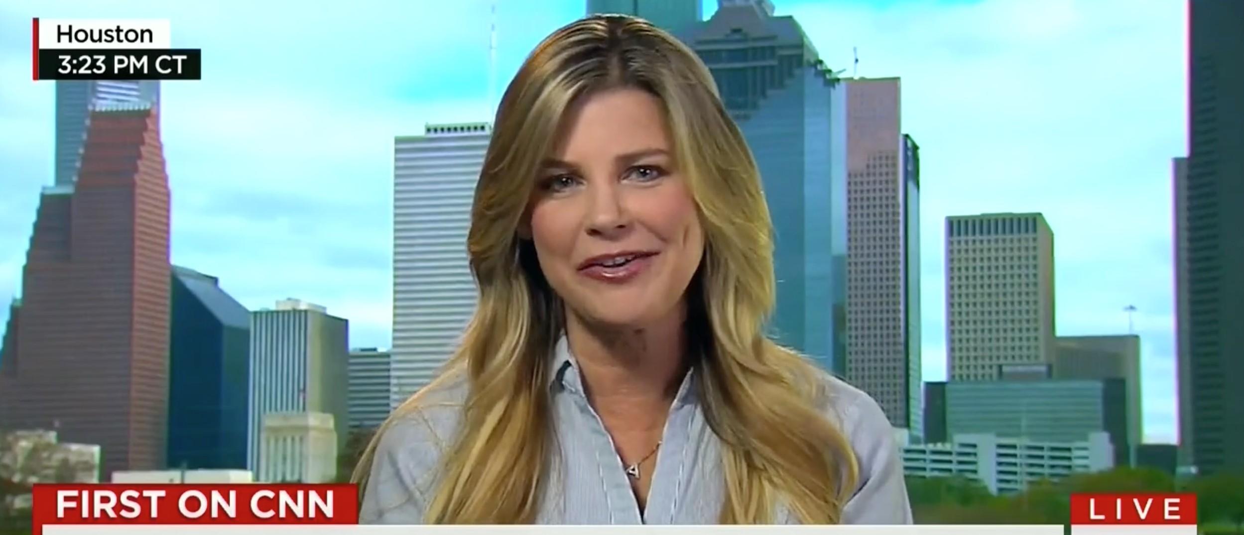 Amy Lindsay, screen shot CNN
