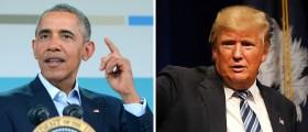 Barack Obama, Donald Trump [images via Getty]
