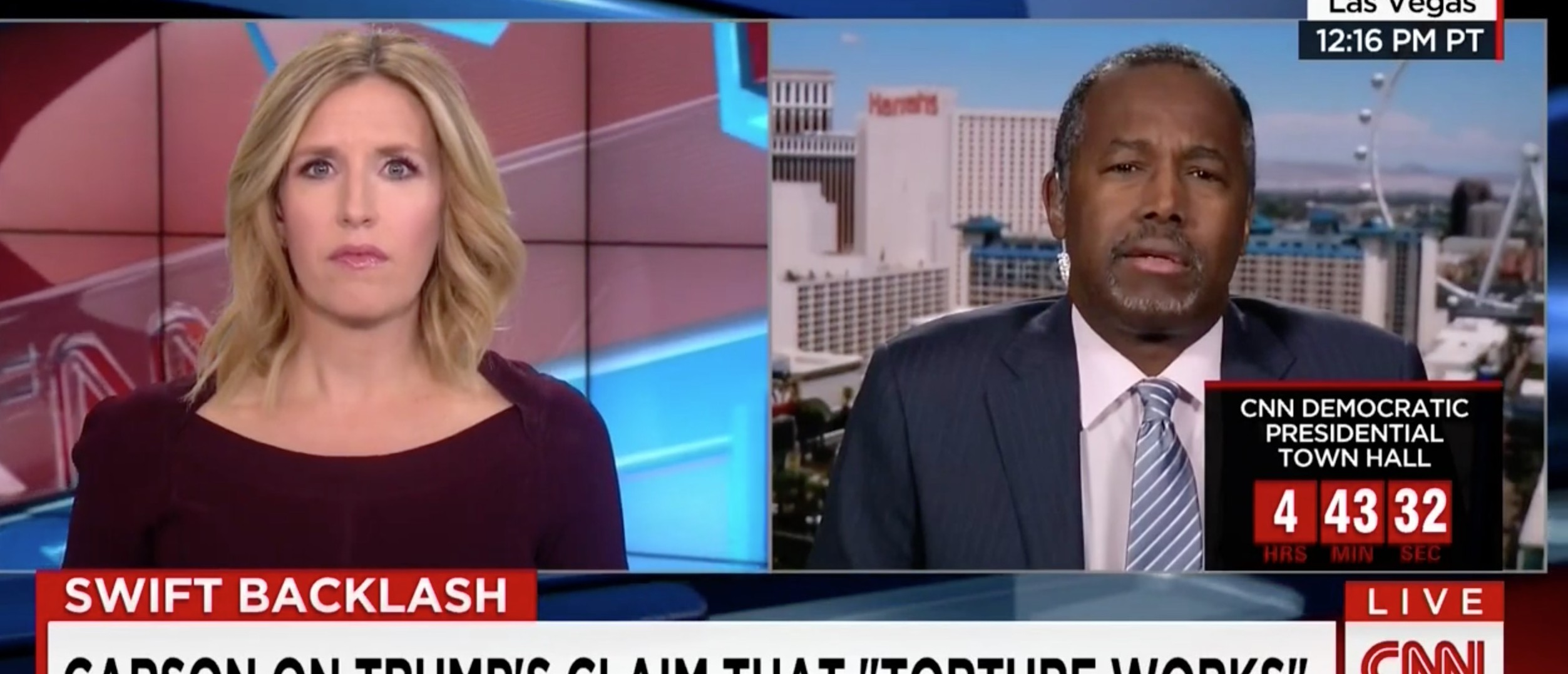 Ben Carson, Screen shot CNN, 2-23-2016