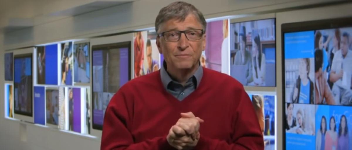 Bill Gates YouTube screenshot/GrammyAwards