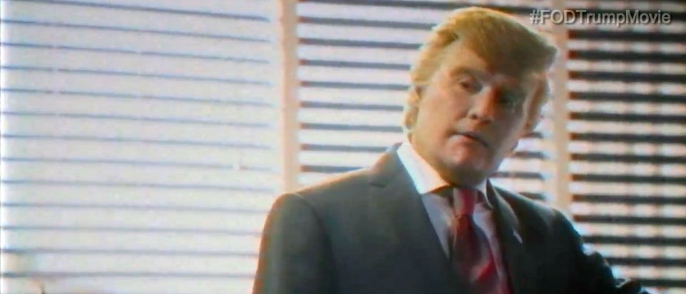Johnny Depp as Donald Trump (Funny or Die screenshot)