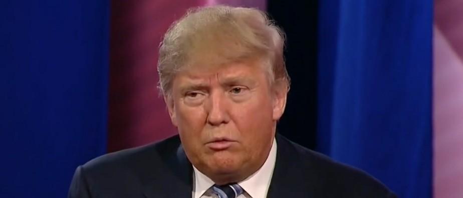 Donald Trump, CNN Town Hall, Screen Shot CNN