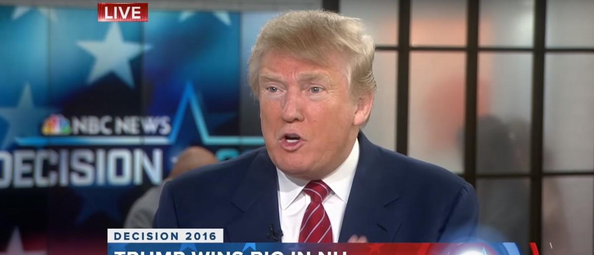 Donald Trump, 'Today' Show