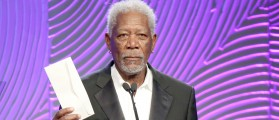 Morgan Freeman's Creepy Behavior Caught On Tape