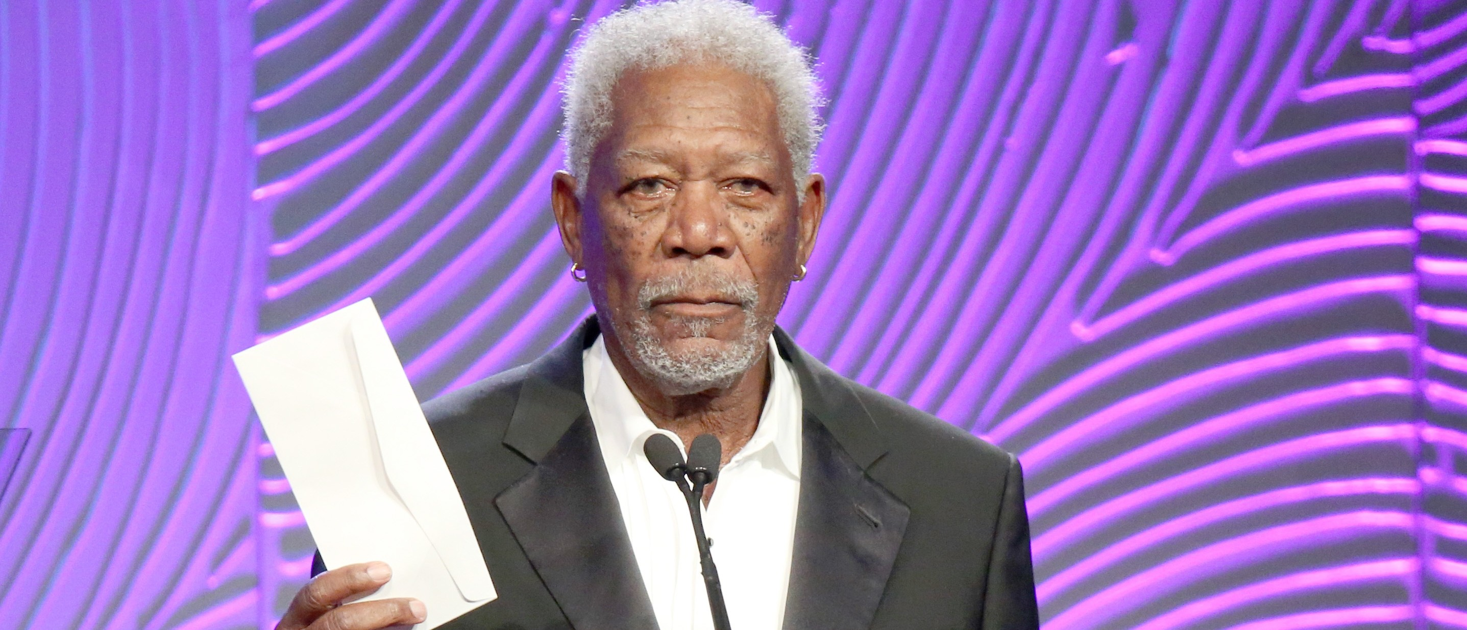 Morgan Freeman does ad for Hillary Clinton