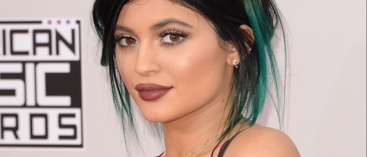 Kylie Jenner attends the 2014 American Music Awards at Nokia Theatre L.A. Live on November 23, 2014 in Los Angeles. (Photo by Jason Merritt/Getty Images)