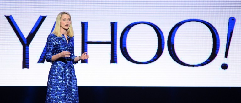 Yahoo! President and CEO Marissa Mayer (Photo by Ethan Miller/Getty Images)