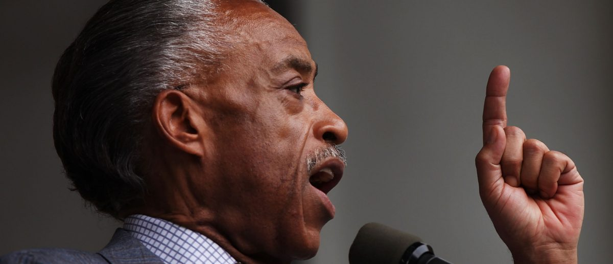 Al Sharpton protests Oscars