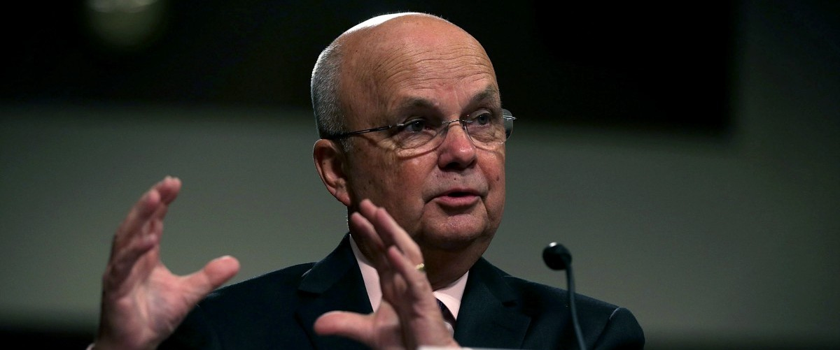 Former CIA Director Gen. Michael Hayden (Ret.) testifies during a hearing before Senate Armed Services Committee August 4, 2015 on Capitol Hill in Washington, DC. The committee held a hearing on the Joint Comprehensive Plan of Action (JCPOA) and the military balance in the Middle East. Alex Wong/Getty Images.