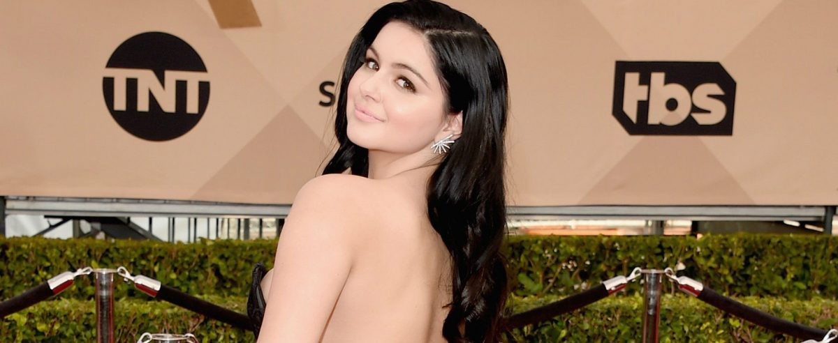 Ariel Winter graduated from high school in nude (Photo: Getty Images)
