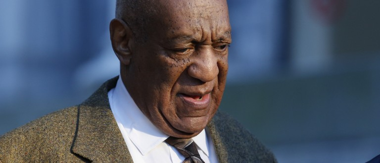 Bill Cosby arrives in court Tuesday. (Photo: Getty Images)