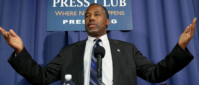 Carson: Judge Ted Cruz Not By What He Says, But By What He Does (Getty Images)