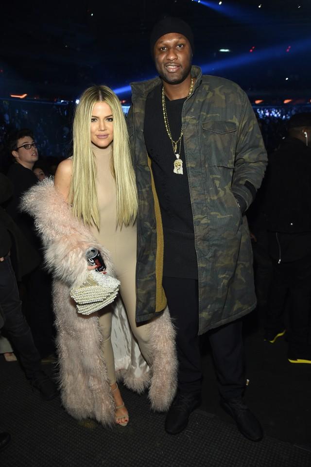 Khloe Kardashian and Lamar Odom together