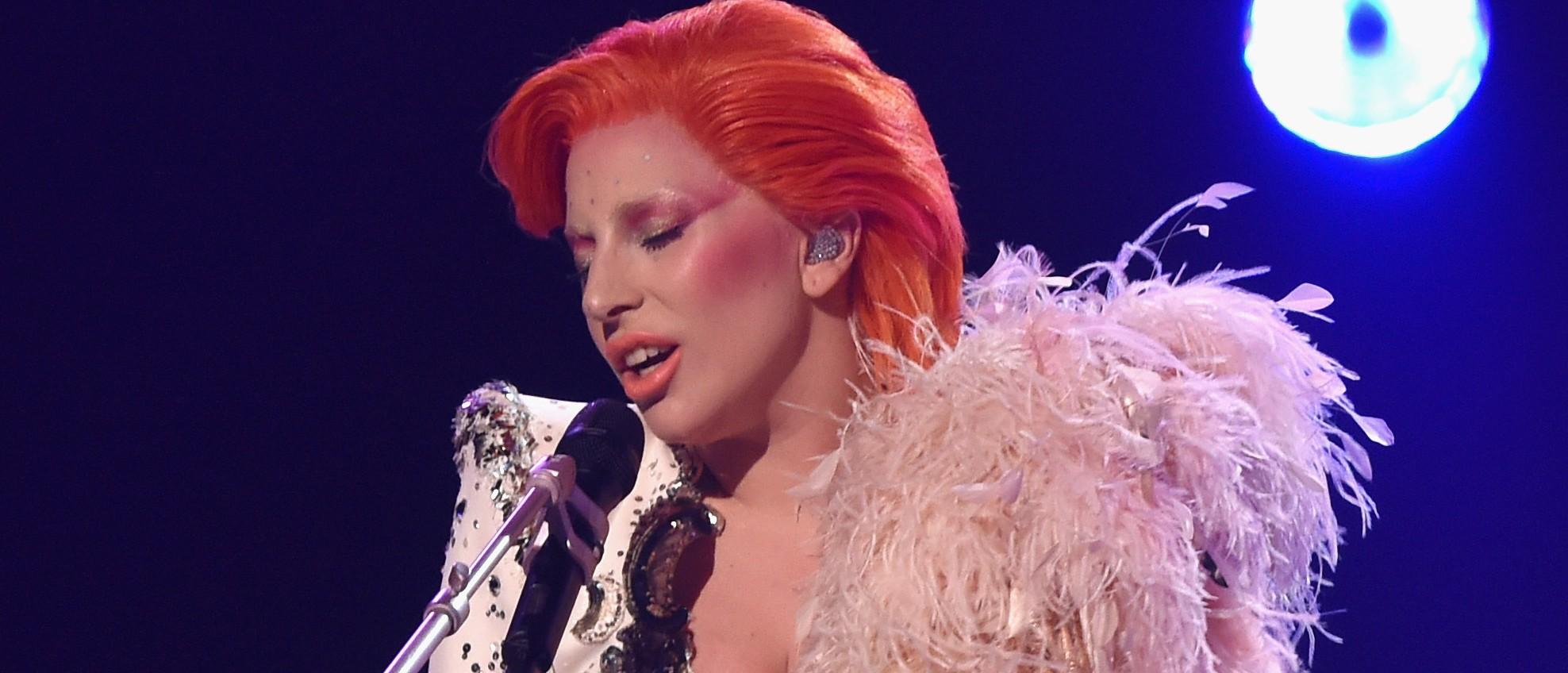 Lady Gaga's David Bowie tribute