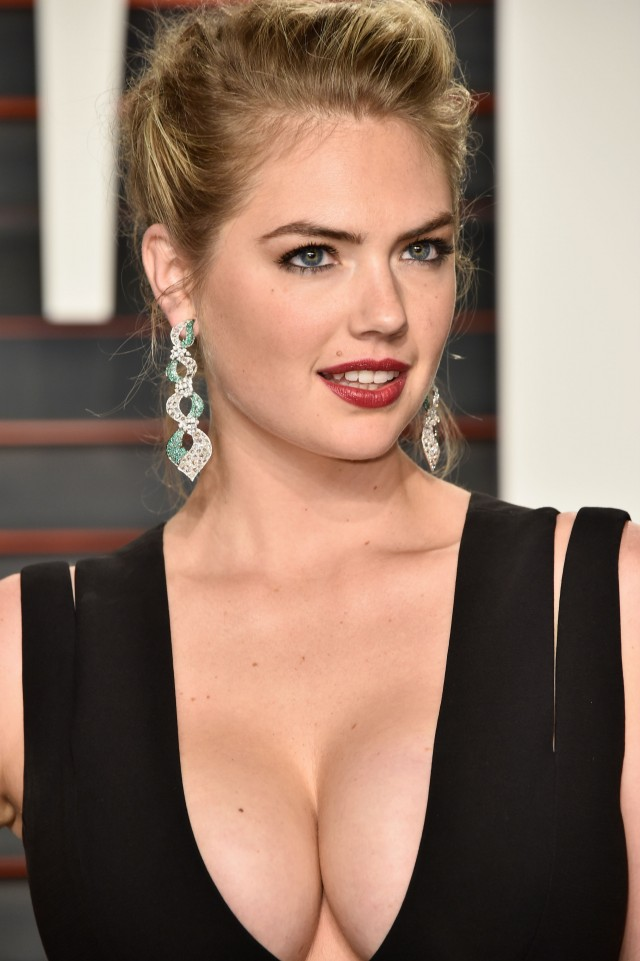 Kate Upton Flaunts Her Figure In Insanely Revealing Red