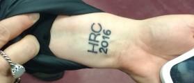HRC 2016 Tattoo