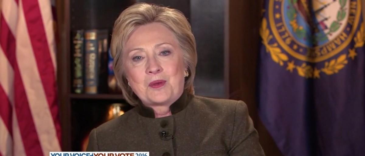Hillary clinton screen shot abcs this week e1455132081446