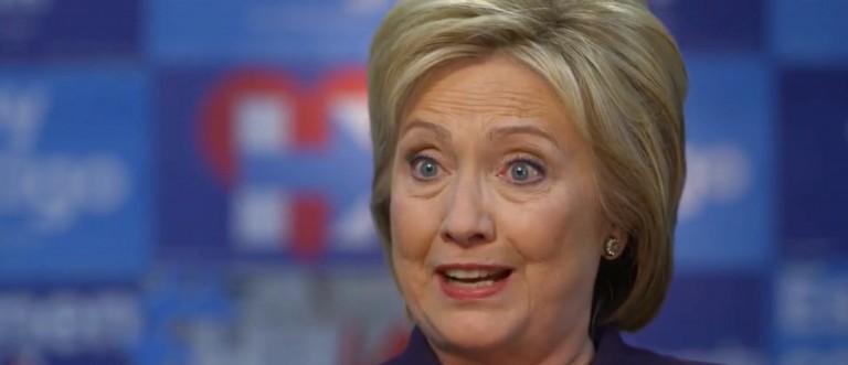 Hillary Clinton, screen shot CBS News