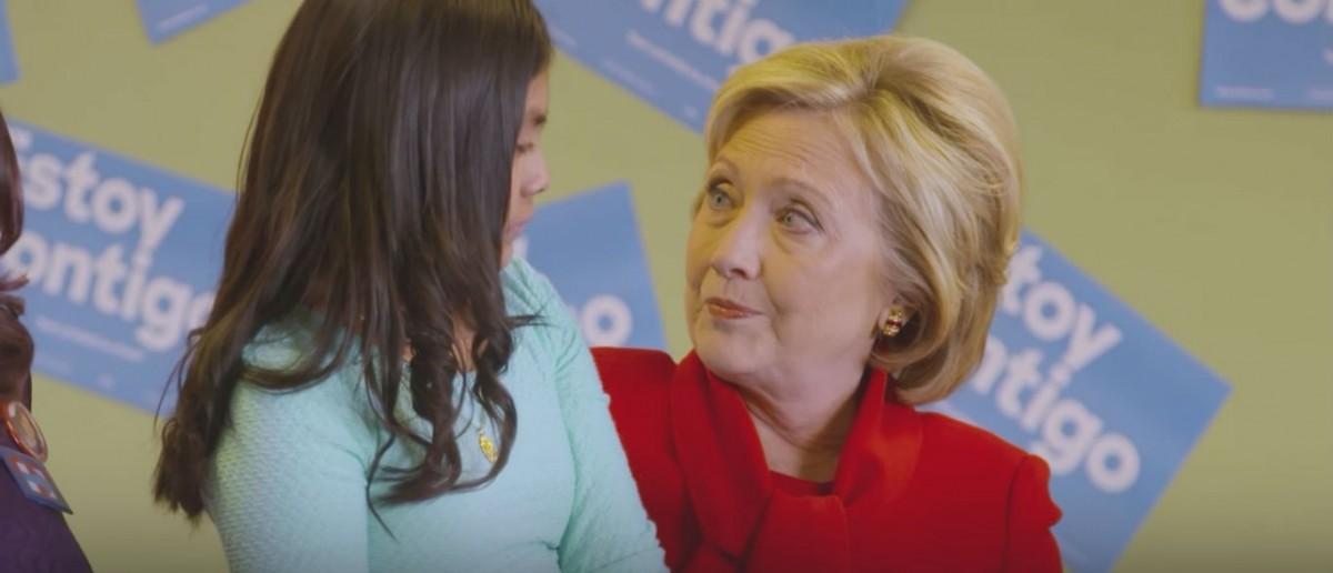 Screenshot, YouTube, Brave, Hillary Clinton
