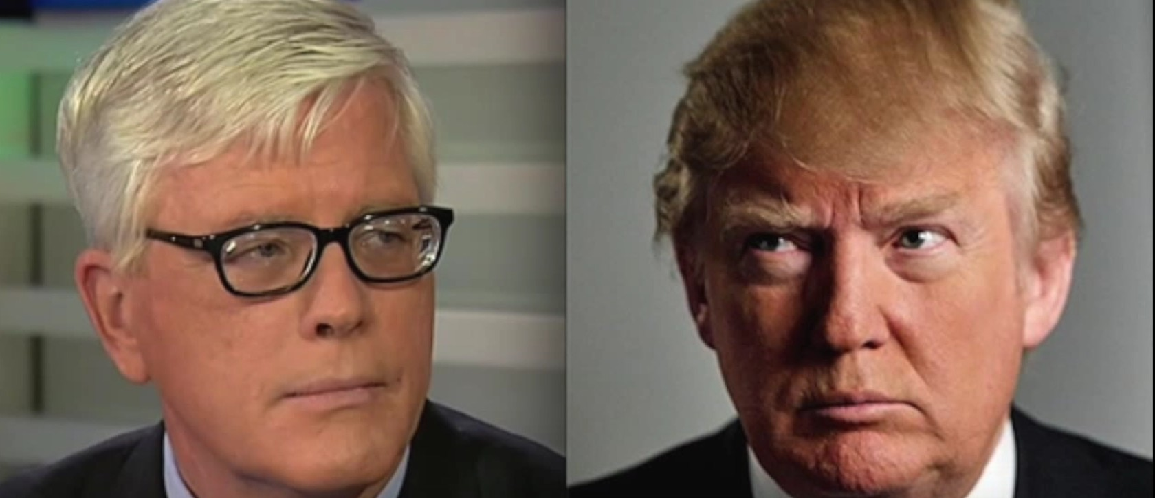 Hugh Hewitt, Donald Trump, Screen shot Hugh Hewitt YouTube, 2-29-2016