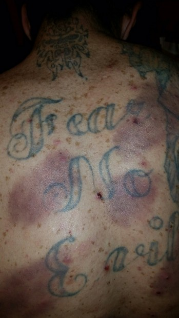 (Fear no evil tattoo after union attack by Center on National Labor Policy)