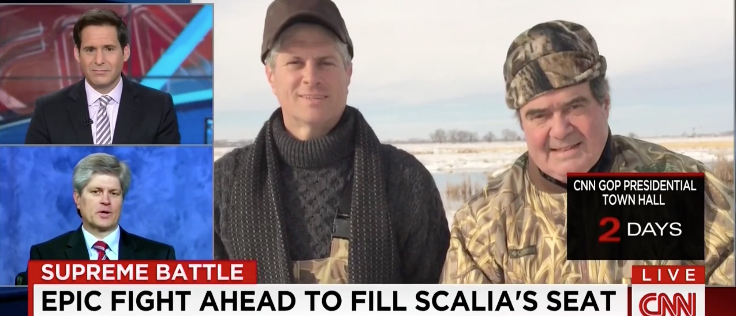 Rep. Jeff Fortenberry, Antonin Scalia, Screen shot CNN