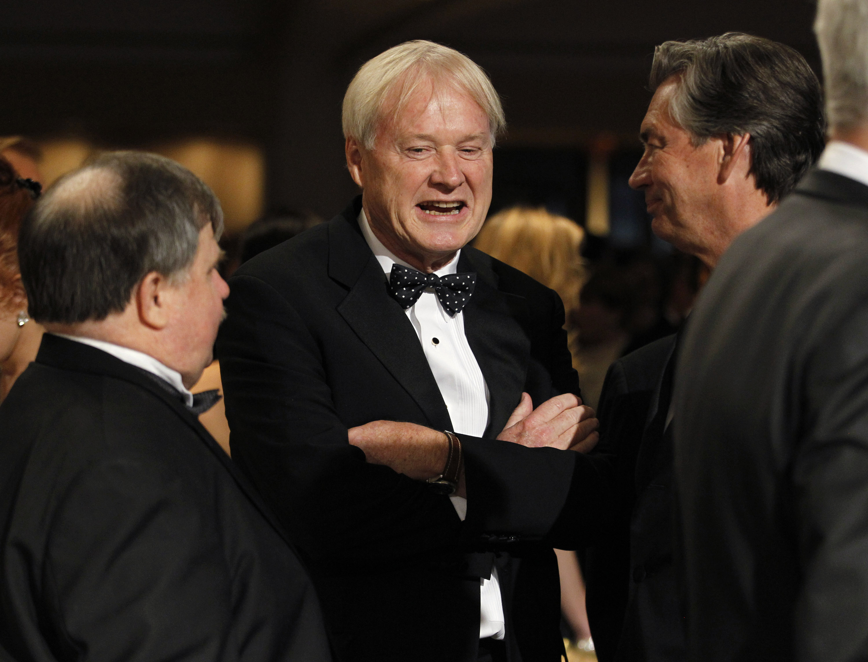 Hardball host Chris Matthews was in Palm Beach for the wedding and has since interviewed Trump multiple times on his presidential candidacy. (Photo: Reuters)