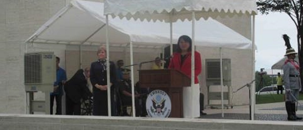 Rima Nelson, director of the Veterans Affairs Philippines office (US government photo: https://www.abmc.gov/multimedia/images/veterans-day-2014-manila-american-cemetery-rimaann-nelson)