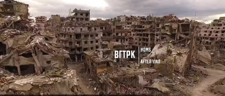 Drones Capture The Destruction ISIS Has Inflicted On Syria's Third Largest City (YouTube)