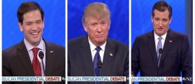GOP Candidates Make Super Bowl Predictions ... And Trump Flips! (ABC)