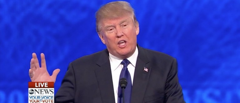 Trump: 'I Would Bring Back Waterboarding And A Hell Of A Lot Worse' (ABC)