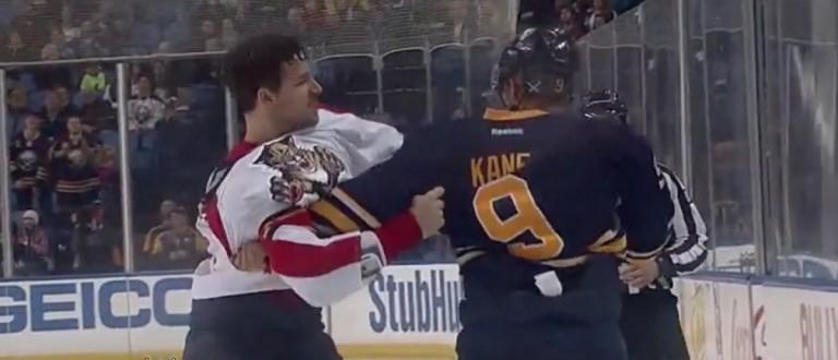 Evander Kane (Credit: Screenshot/Youtube Hockeyfights.com)