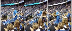 Kentucky Fan (Credit: Screenshot/Twitter video rulenumber76)