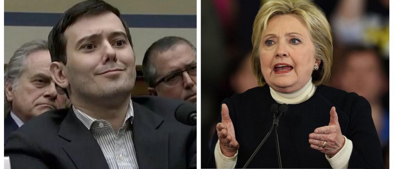 Scumbag, Pharmaceutical Bro Martin Shkreli Trolls Hillary On Twitter (YouTube/Getty Images)