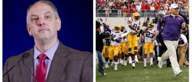 Governor Warns: Budget Crisis Could Kill LSU Football (Getty Images)