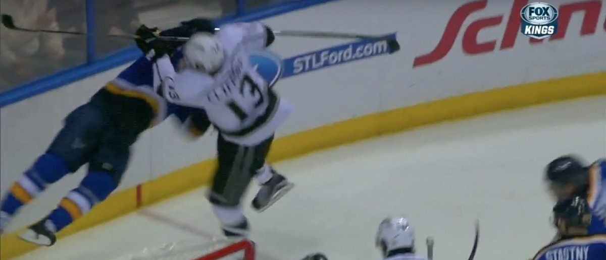 Kyle Clifford Hit (Credit: Screenshot/Youtube SPORTSNETCANADA)
