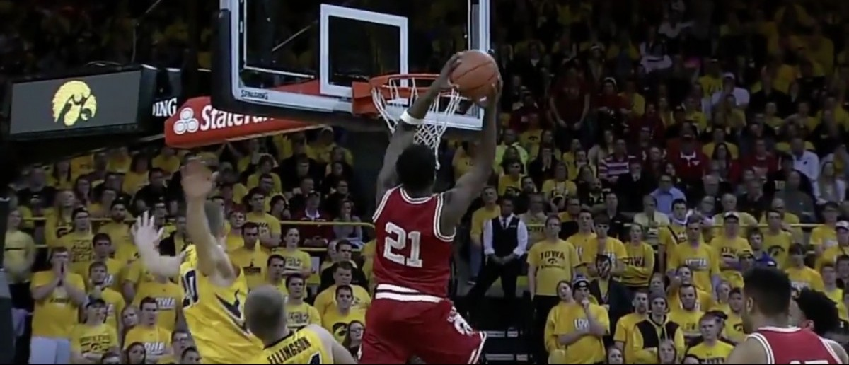 Khalil Iverson (Credit: Screenshot/Youtube Big Ten Network)