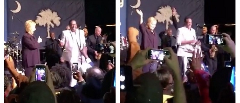 During GOP Debate, Hillary Was Gettin' Down With Her Bad Self (YouTube)