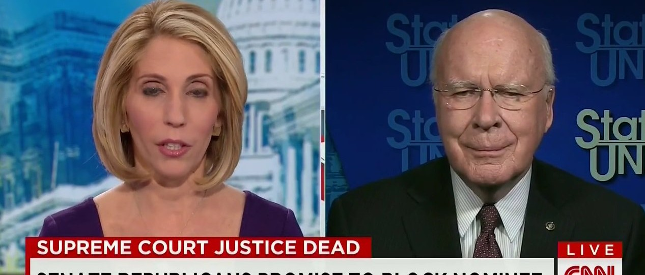 Leahy: Republicans Blocking Supreme Court Nomination Are 'Ignoring The Constitution' (CNN)