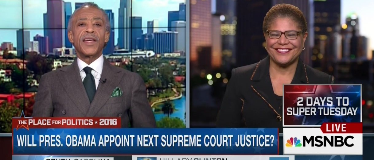 Dem Rep: SCOTUS Needs Real 'African-American Voice,' Clarence Thomas Doesn't Count (MSNBC)