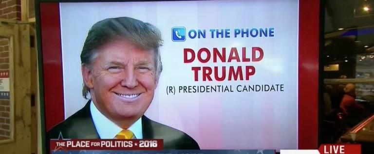 Trump: Jeb's 'A Stiff Who You Wouldn't Hire In Private Enterprise' [screen shot MSNBC]