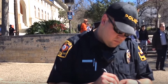 University Of Texas Police Give Preacher Citation For Offending Students