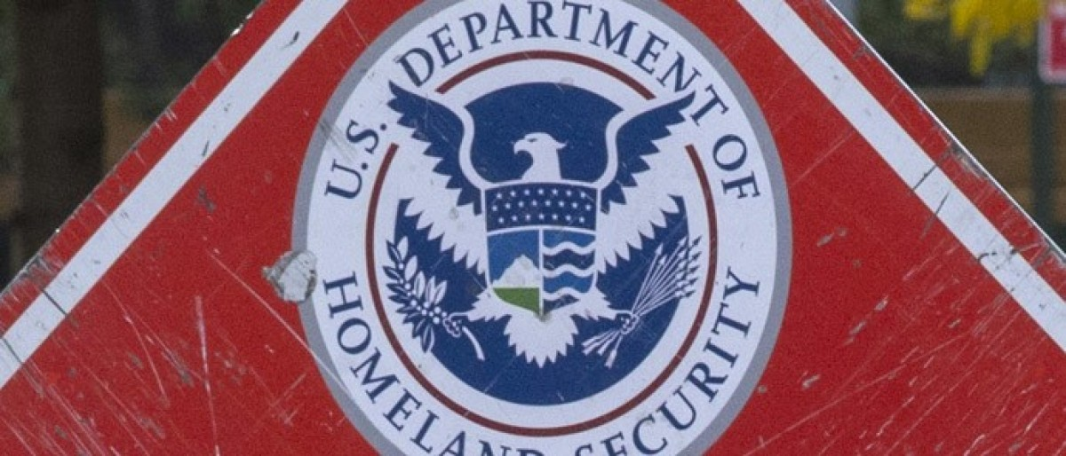 Department of Homeland Security logo Reuters/HYUNGWON KANG