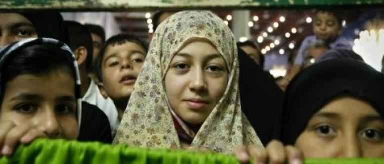 Iranian girls. (Source: Mohammad Shiri/REUTERS)