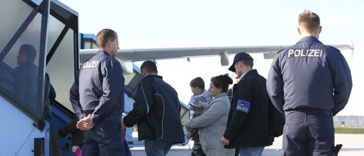 German pilots ground 222 flights after refusing to deport