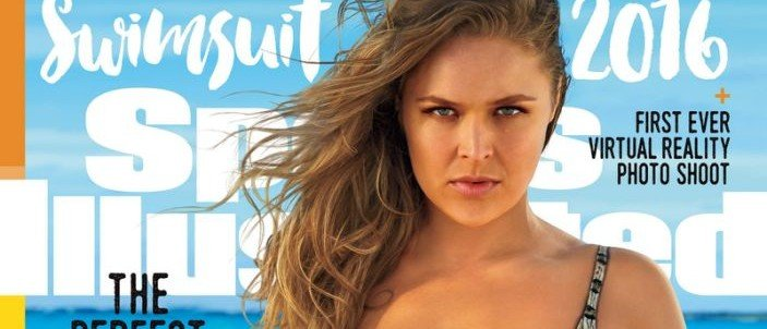 Ronda Rousey makes the cover of Sports Illustrated (Photo: Sports Illustrated)