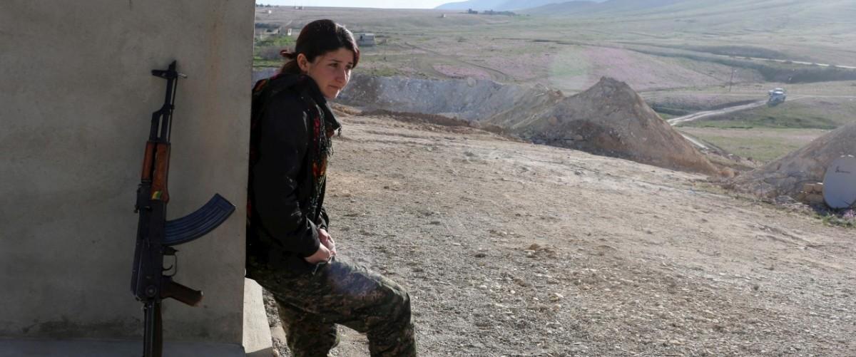 Kurdish Women Battle Islamic State